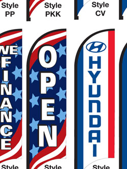 feather flags,cleveland ohio,auto dealer flags,car flags,pennant people