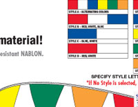 Streamers,Auto Dealer Flags Cleveland,pennants,flags,cleveland ohio,auto dealer flags,car flags,pennant people